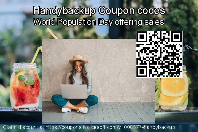 Handybackup Coupon code for 2020 Back to School season