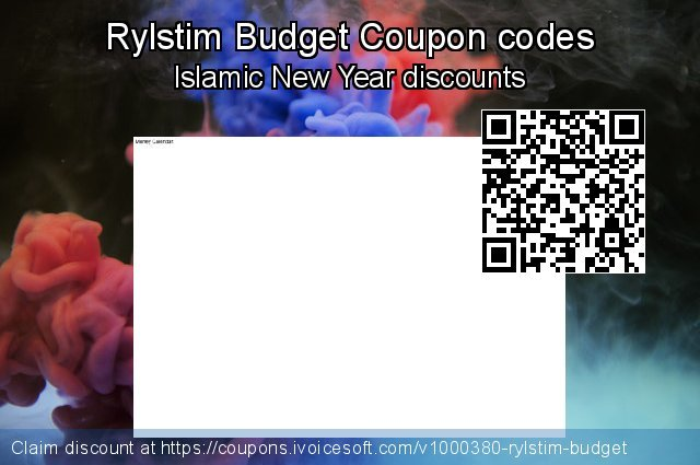 Rylstim Budget Coupon code for 2019 Back-to-School promotions