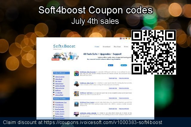 Soft4boost Coupon code for 2020 New Year's Weekend