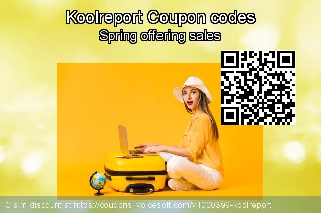 Koolreport Coupon code for 2019 4th of July