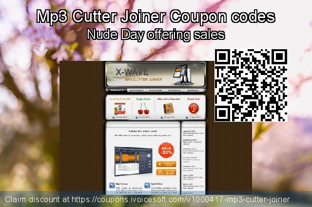 Mp3 Cutter Joiner Coupon code for 2021 Easter day