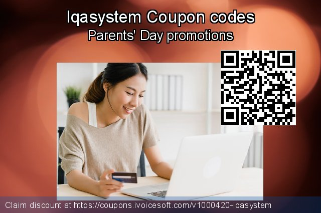 Iqasystem Coupon code for 2019 Back to School promo