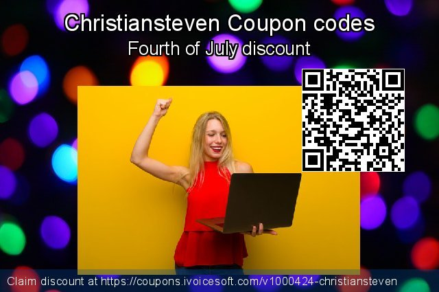 Christiansteven Coupon code for 2021 Mother Day