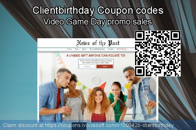 Clientbirthday Coupon code for 2021 April Fools' Day