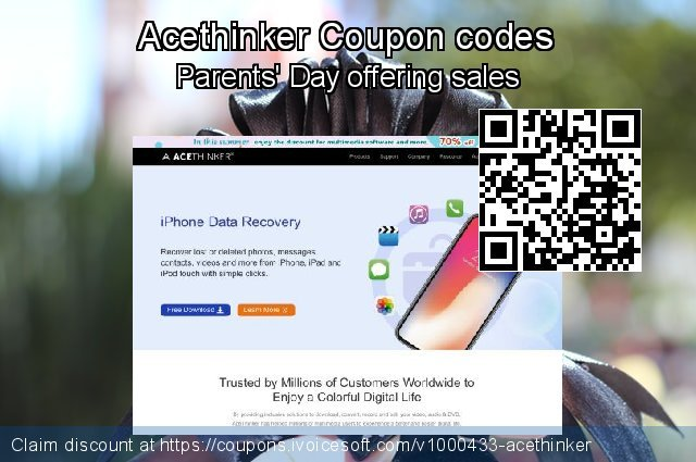 Acethinker Coupon code for 2019 University Student deals
