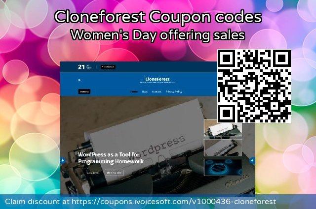 Cloneforest 可怕的 促销销售, 2020 夏季