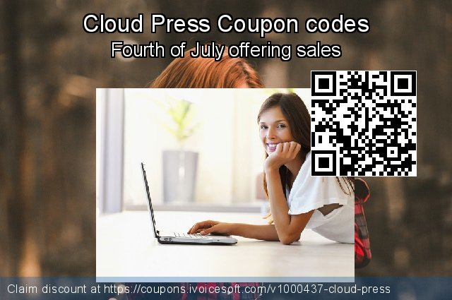 Cloud Press Coupon code for 2019 College Student deals