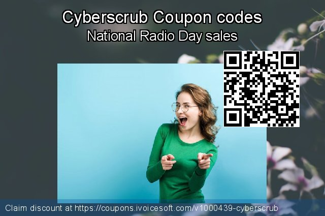 Cyberscrub Coupon code for 2020 New Year's Weekend