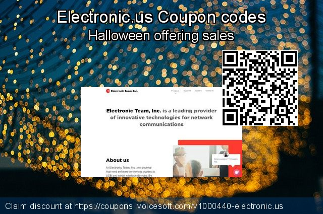 Electronic.us Coupon code for 2019 Back to School promotion