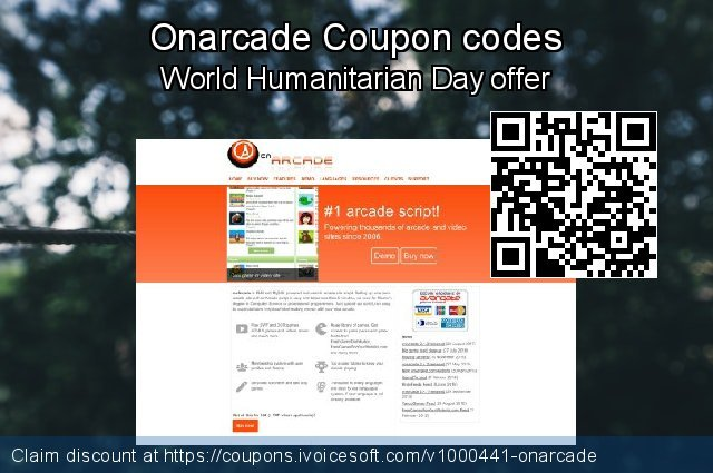 Onarcade Coupon code for 2021 Easter day