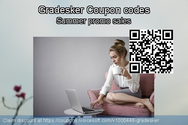 Gradesker Coupon code for 2020 New Year