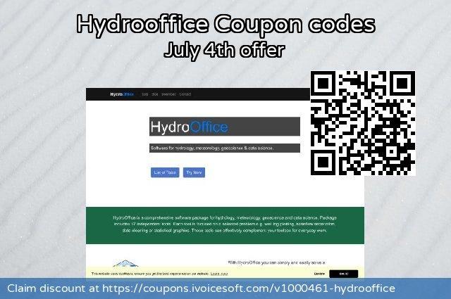 Hydrooffice 可怕的 优惠券, 2020 1月1日