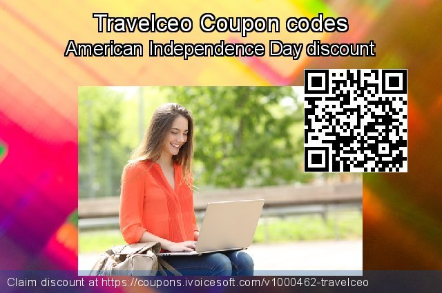 Travelceo Coupon code for 2020 4th of July