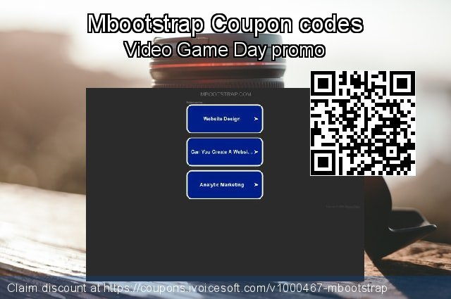 Mbootstrap Coupon code for 2020 New Year's Weekend