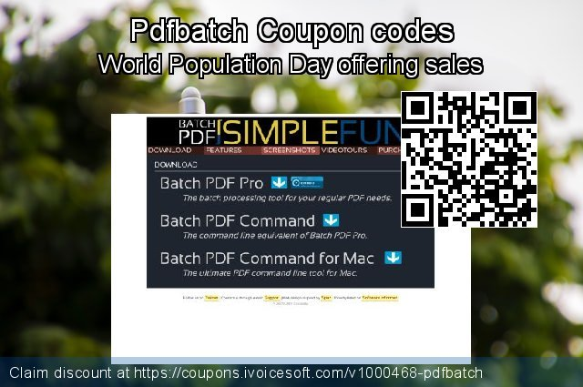 Pdfbatch Coupon code for 2020 Summer