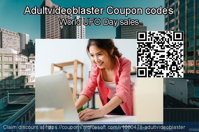 Adultvideoblaster Coupon code for 2020 Summer