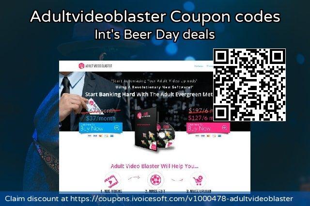 Adultvideoblaster 优秀的 优惠券, 2020 一月