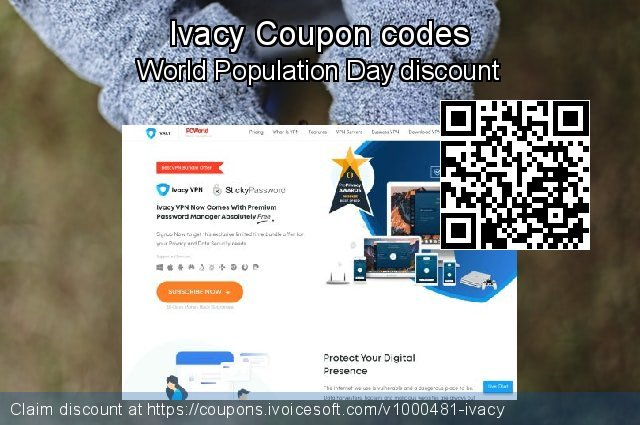 Ivacy Coupon code for 2020 Fourth of July
