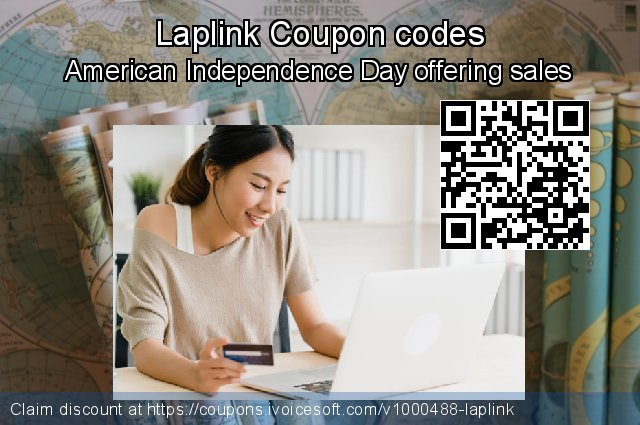 Laplink Coupon code for 2021 Women Day
