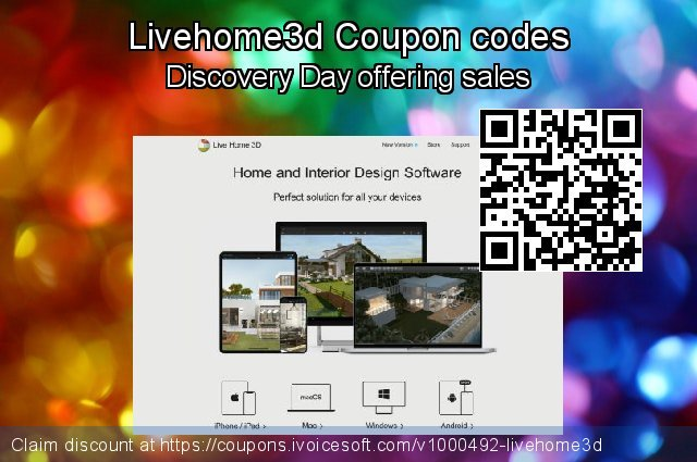 Livehome3d Coupon code for 2021 Happy New Year