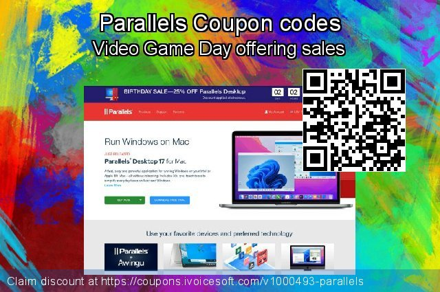 Parallels Coupon code for 2021 January