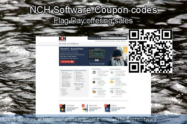 NCH Software Coupon code for 2018 Christmas & New Year