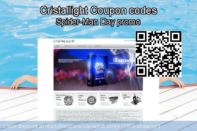 Cristallight Coupon code for 2019 New Year