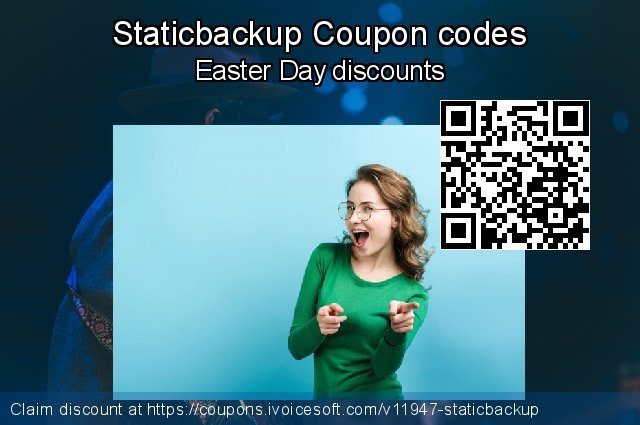 Staticbackup Coupon code for 2020 4th of July