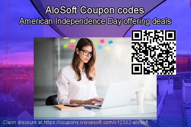 AloSoft Coupon code for 2019 American Independence Day