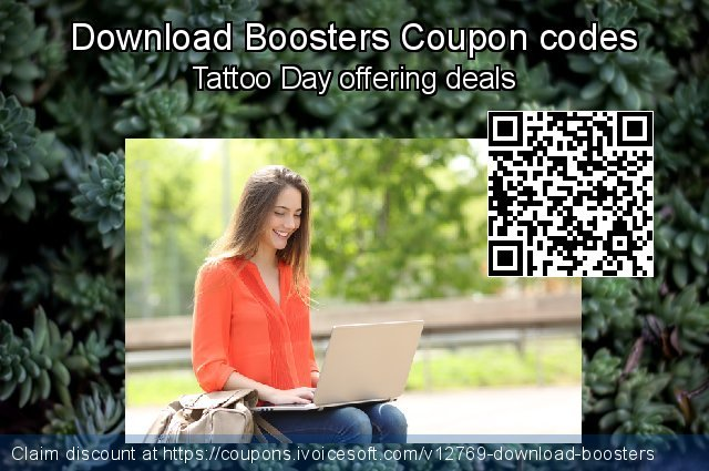 Download Boosters Coupon code for 2020 Student deals