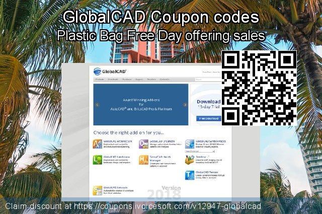GlobalCAD Coupon code for 2019 New Year's eve