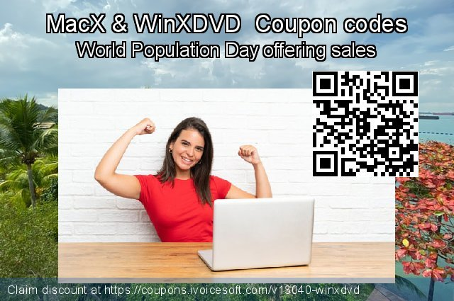 MacX & WinXDVD  Coupon code for 2019 National Women month