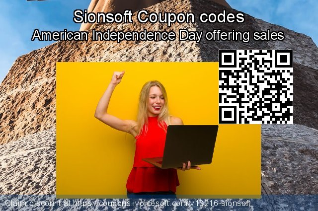 Sionsoft Coupon code for 2020 College Student deals