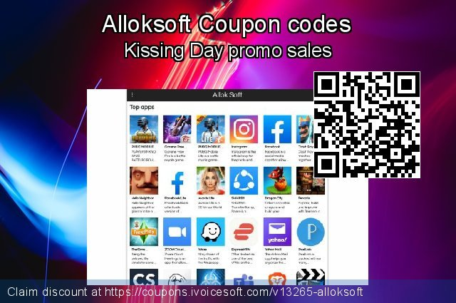 Alloksoft Coupon code for 2019 Easter day
