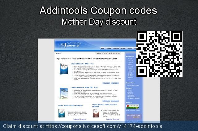 Addintools Coupon code for 2019 Christmas & New Year