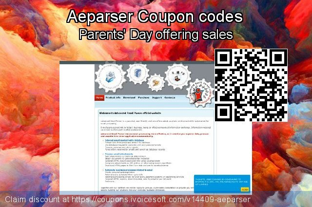 Aeparser Coupon code for 2021 National Women month
