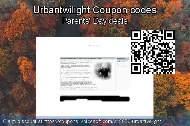 Urbantwilight Coupon code for 2019 New Year's Day