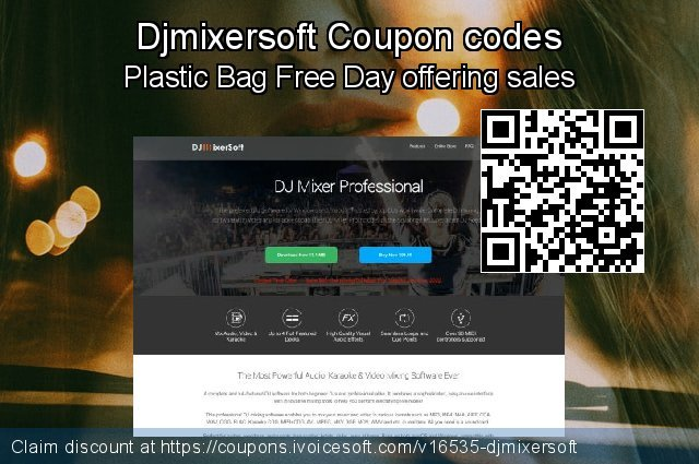 Djmixersoft Coupon code for 2019 Back to School season