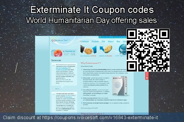 Exterminate It Coupon code for 2019 Fourth of July