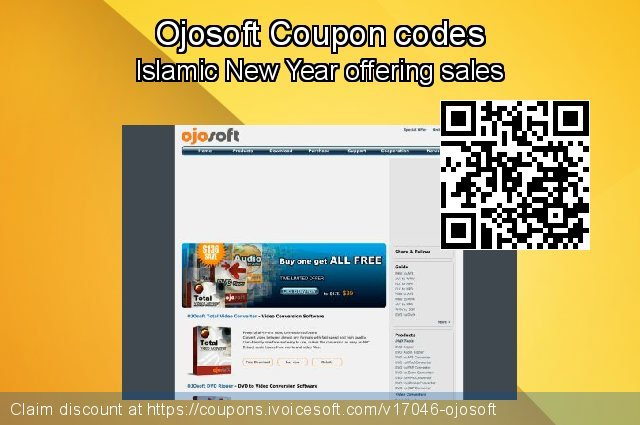 Ojosoft Coupon code for 2020 Fourth of July