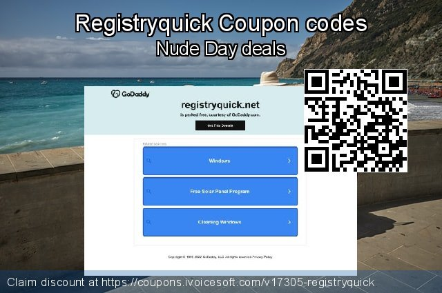 Registryquick Coupon code for 2019 Working Day