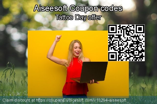 Aiseesoft Coupon code for 2018 End year