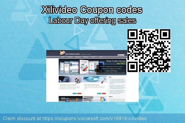 Xilivideo Coupon code for 2019 Spring