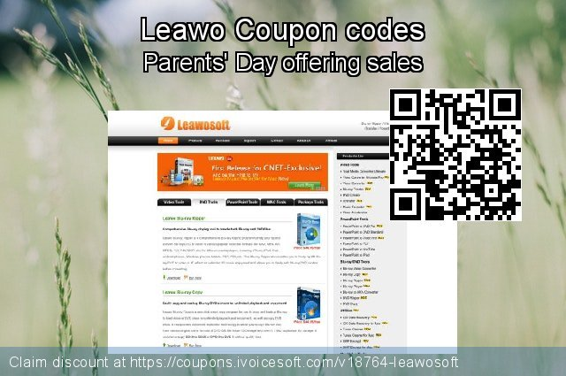 Leawo Coupon code for 2021 April Fools' Day