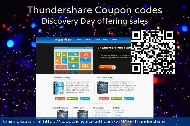 Thundershare  놀라운   할인 , 2021 五朔节