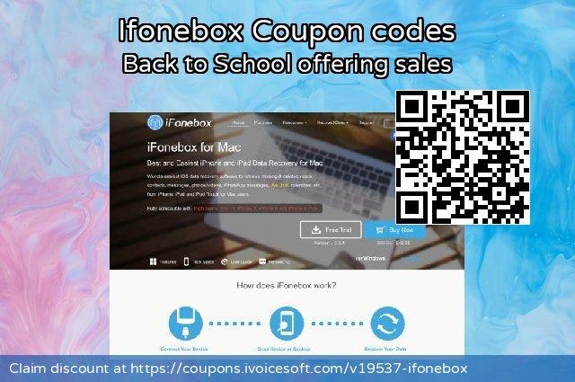 Ifonebox 令人惊讶的 折扣, 2021 春季