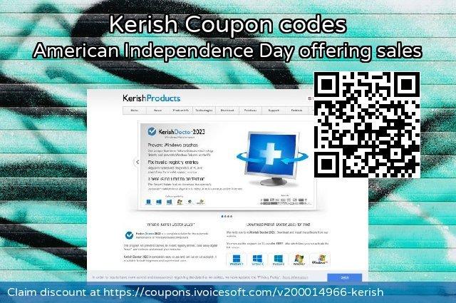 Kerish Coupon code for 2020 Exclusive Teacher discount