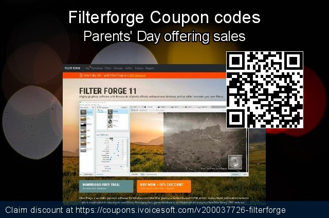 Filterforge Coupon code for 2019 Halloween