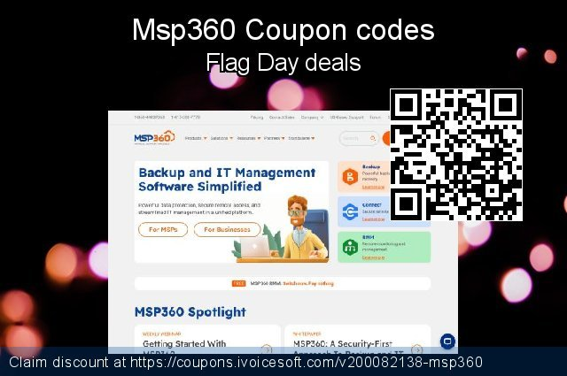 Msp360 Coupon code for 2021 Resurrection Sunday