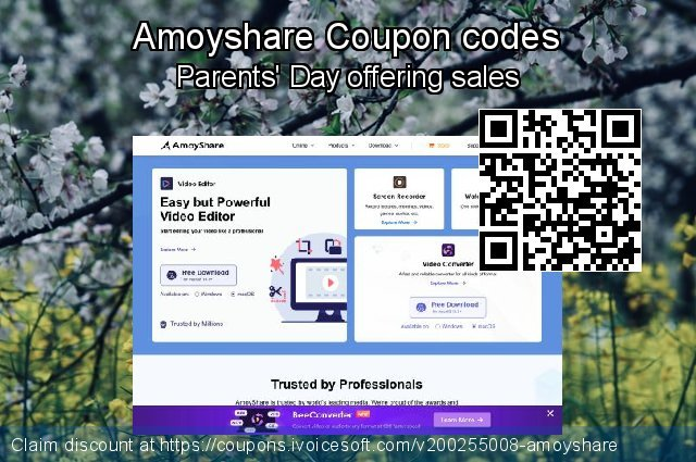 Amoyshare Coupon code for 2020 Back to School deals